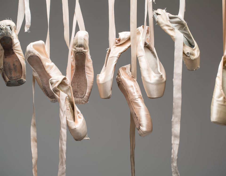 ballet shoes_many